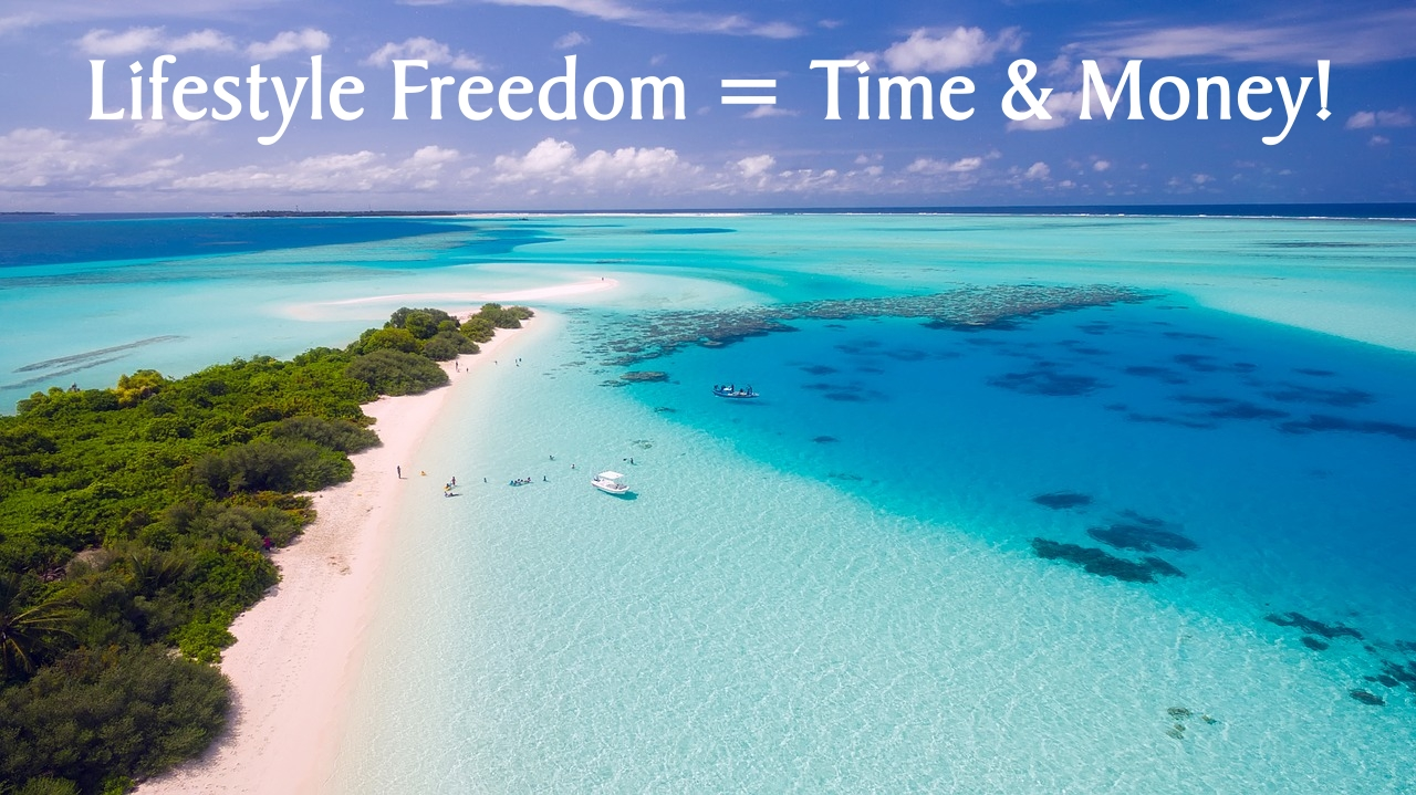 Lifestyle Freedom is Time and Money