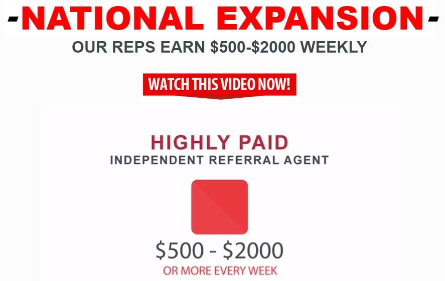 Get Weekly Paychecks Ad