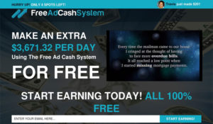 Is Free Ad Cash System a Scam