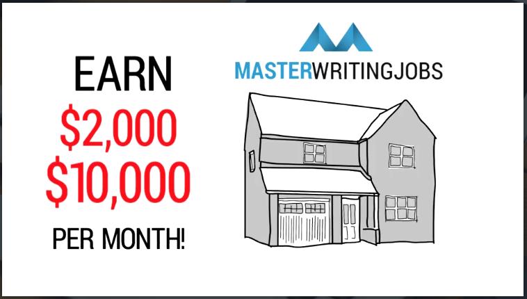 master writing jobs legit