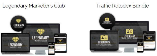 Legendary Marketers Club Traffic Rolodex Bundle