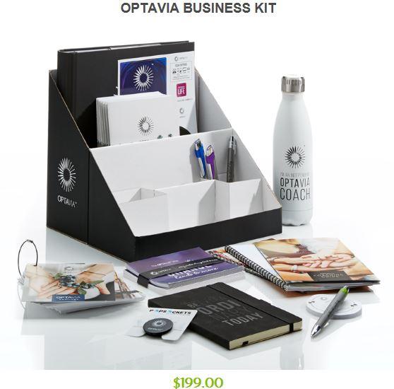 Optavia Business Kit