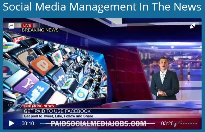 Paid Social Media Jobs Fake News