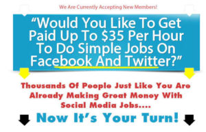Paid Social Media Jobs Is a Scam