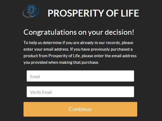 Prosperity of Life Join