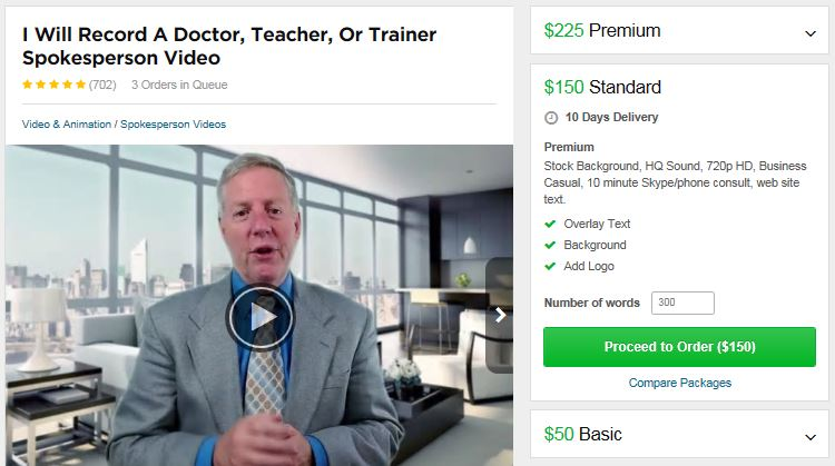Steve Banks Fiverr Actor