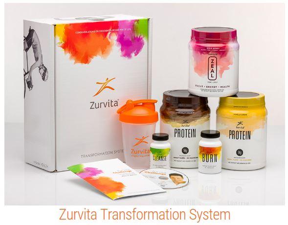 Zurvita Transformation System