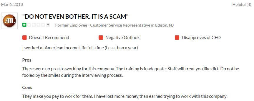American Income Life Complaint 1