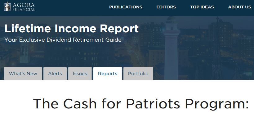 Is Cash For Patriots Program a Scam