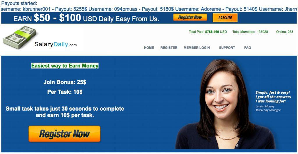 Salary Daily