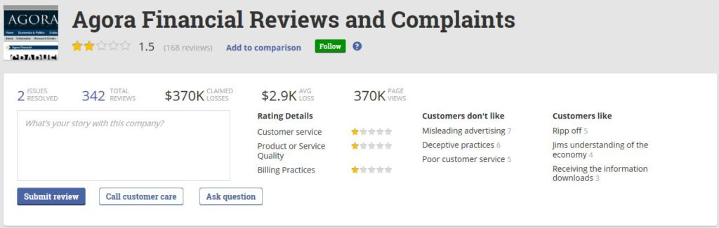 Agora Financial Complaints Pissed Consumer