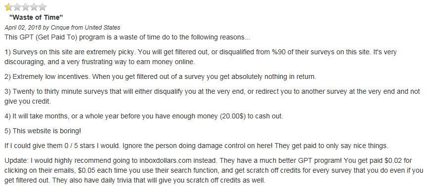 CashCrate Complaints