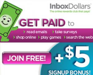 InboxDollars Sign Up Bonus
