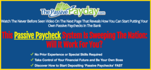 Is Passive Payday a Scam