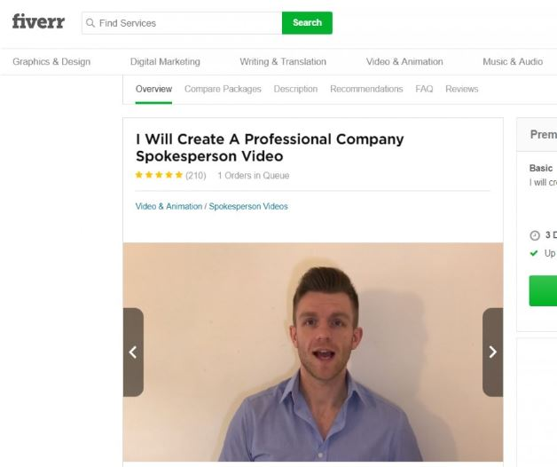 Matt Haskins On Fiverr