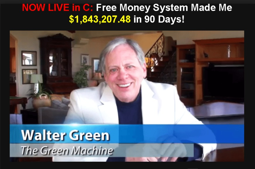 Is Walter Greens Free Money System a Scam