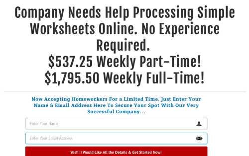 Legit Flex Job Payments