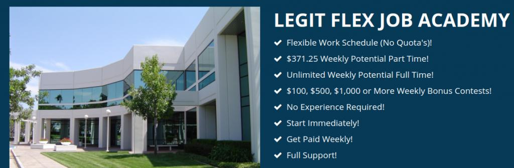 Legit Flex Job Reviews