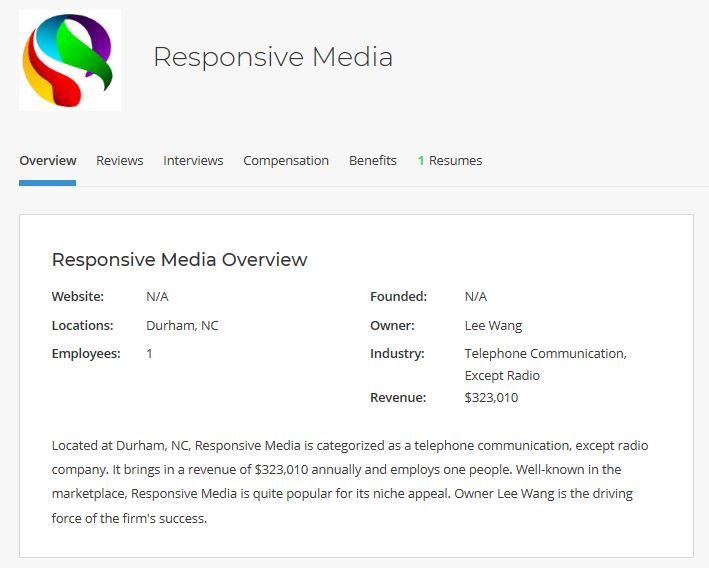 Responsive Media Lee Wang