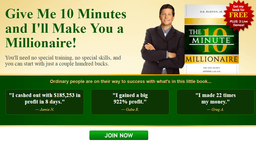 The 10 Minute Millionaire Insider Review