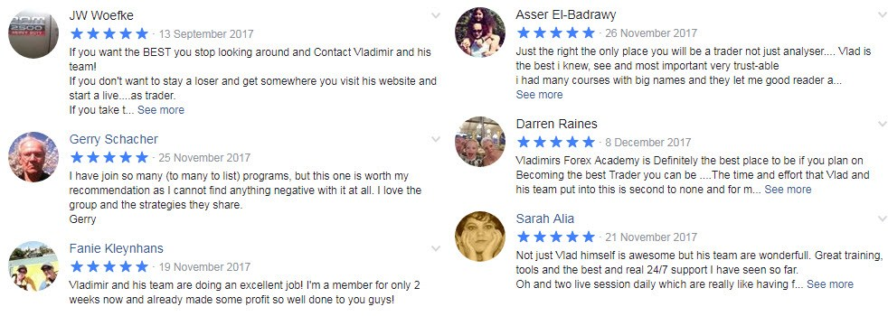 Traders Academy Club Ratings and Reviews 3