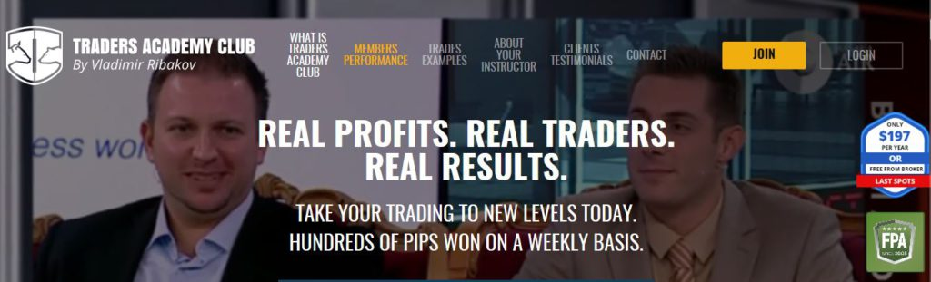Traders Academy Club Review
