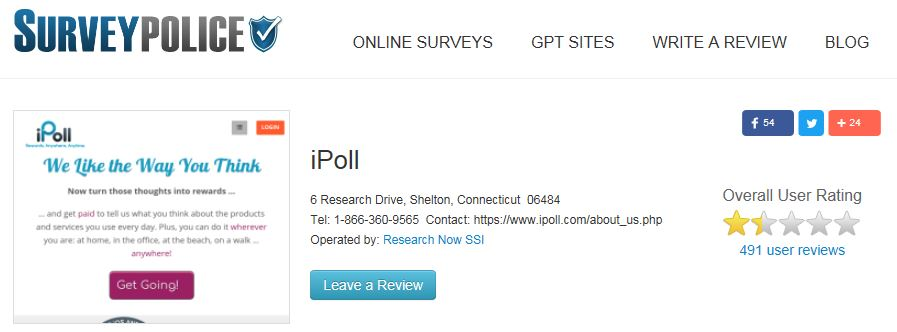 iPoll Survey Police
