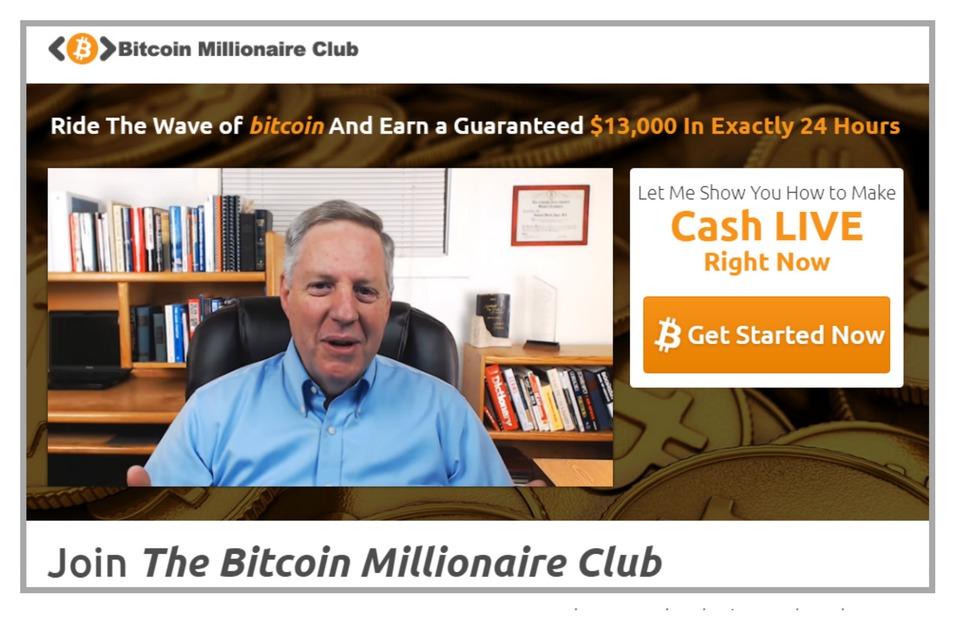 Bitcoin Millionaire Club Fake Testimonial 1