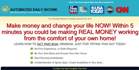 Automated Daily Income